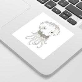 Cracked Octopus Sticker