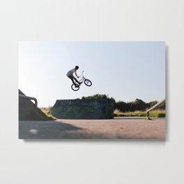 Barspin Metal Print