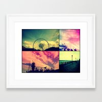 liverpool Framed Art Prints featuring Liverpool by Tal Bright