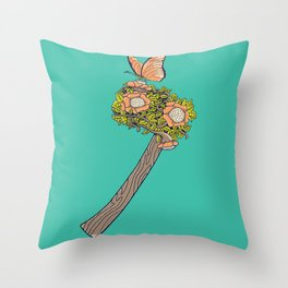 No Steel Today Throw Pillow