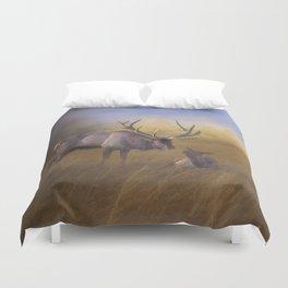 Benezette Elk Duvet Cover