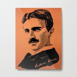 Teslaa Metal Print
