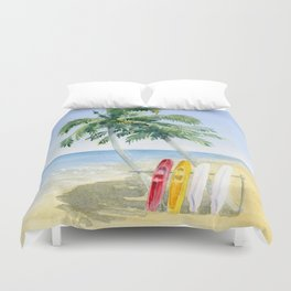 Tropical View Duvet Cover