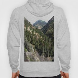 Driving the Spectacular, but Perilous Uncompahgre Gorge, No. 1 of 6 Hoody