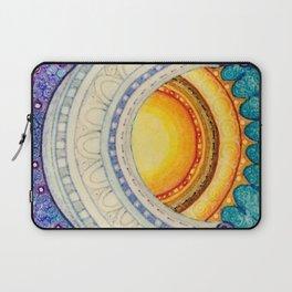 Sun, Moon & Stars Square Laptop Sleeve