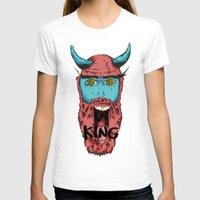 viking T-shirts featuring Viking by Thekrls