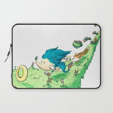 Starring Sonic and Miles 'Tails' Prower (Alt.) Laptop Sleeve