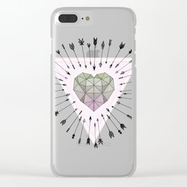 Young & Unafraid - Pink Clear iPhone Case