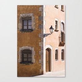 Corner House Canvas Print
