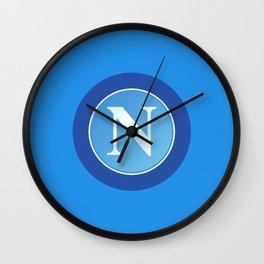 S.S.C. Napoli Wall Clock