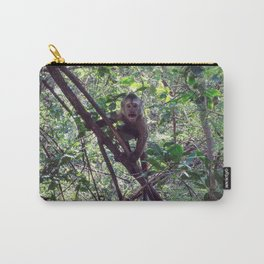 Monkey Sanctuary – Monkey with attitude Carry-All Pouch