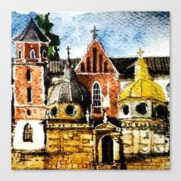 Wawel Canvas Print