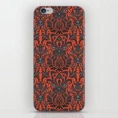 Aya damask orange iPhone & iPod Skin