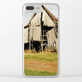 Tobacco Barn Clear iPhone Case
