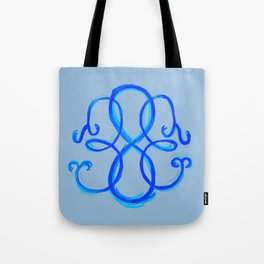 Path Of Life - Blue Tote Bag