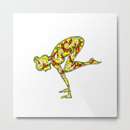 "Yoga Collection: ""Balance"" Metal Print"