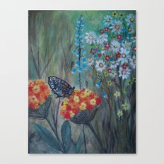 Posies Friend-Butterfly Love Canvas Print