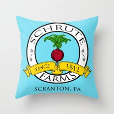 Schrute Farms | The Office - Dwight Schrute Throw Pillow