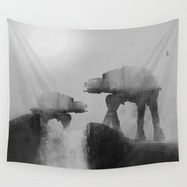 Big Walker Is Watching You Wall Tapestry
