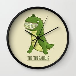 The Thesaurus Wall Clock