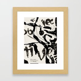 Objective Reality Framed Art Print