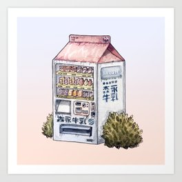 Sunset Snack Art Print