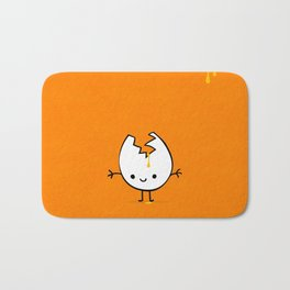 Mr Egg Bath Mat