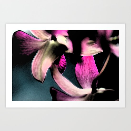 I guess i just like flowers.  Art Print