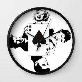50s Wall Clock
