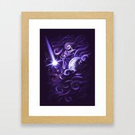 K-Night Framed Art Print