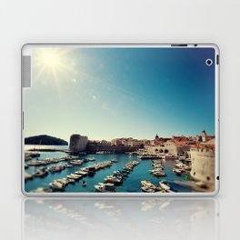 Old Town Harbor - Dubrovnik, Croatia Laptop & iPad Skin