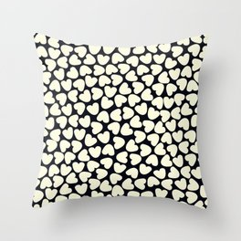Love Pattern Throw Pillow