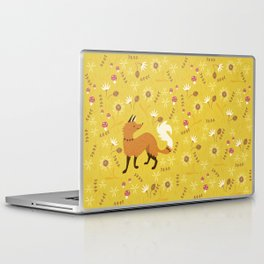 Cute as a Fox Laptop & iPad Skin