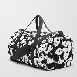 Less Hate More Panda Duffle Bag