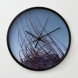 633 Uprising Wall Clock