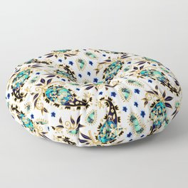 Paisley obsessions Floor Pillow
