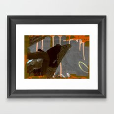 urbanism Framed Art Print