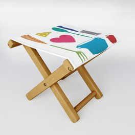 Palatable Printmaking Folding Stool