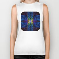 spiritual Biker Tanks featuring Spiritual One by Lyle Hatch