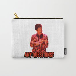 David S. Pumpkins - Any Questions? II Carry-All Pouch