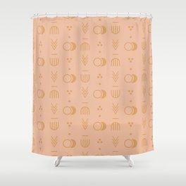 Harvest Geo Shower Curtain
