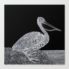 The Pelican Canvas Print