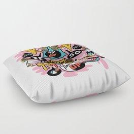 Pizza Mystery Floor Pillow