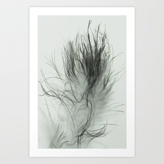 Fluffy Tails. Art Print