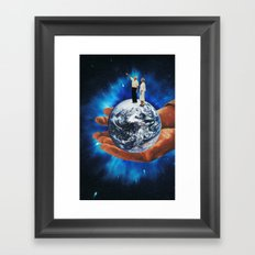 untitled space Framed Art Print