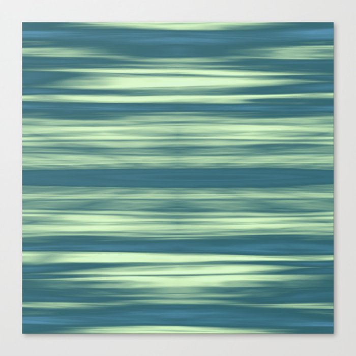 Abstraction Serenity in Afternoon at Sea Canvas Print