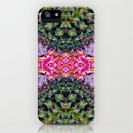 Killer Cacti - Exploring Nature's Patterns iPhone Case
