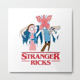 stranger ricks Metal Print
