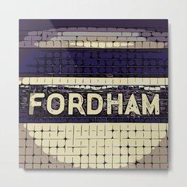 Fordham Metal Print
