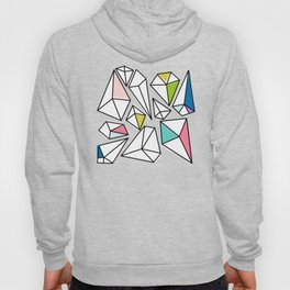 Shine Bright | Colorful Geo Gems Hoody